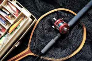 Kescher zum angeln