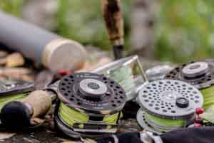 Kescher zum Fliegenfischen